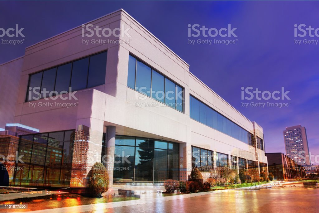 Small Modern Office Building Stock Photo Download Image Now Istock
