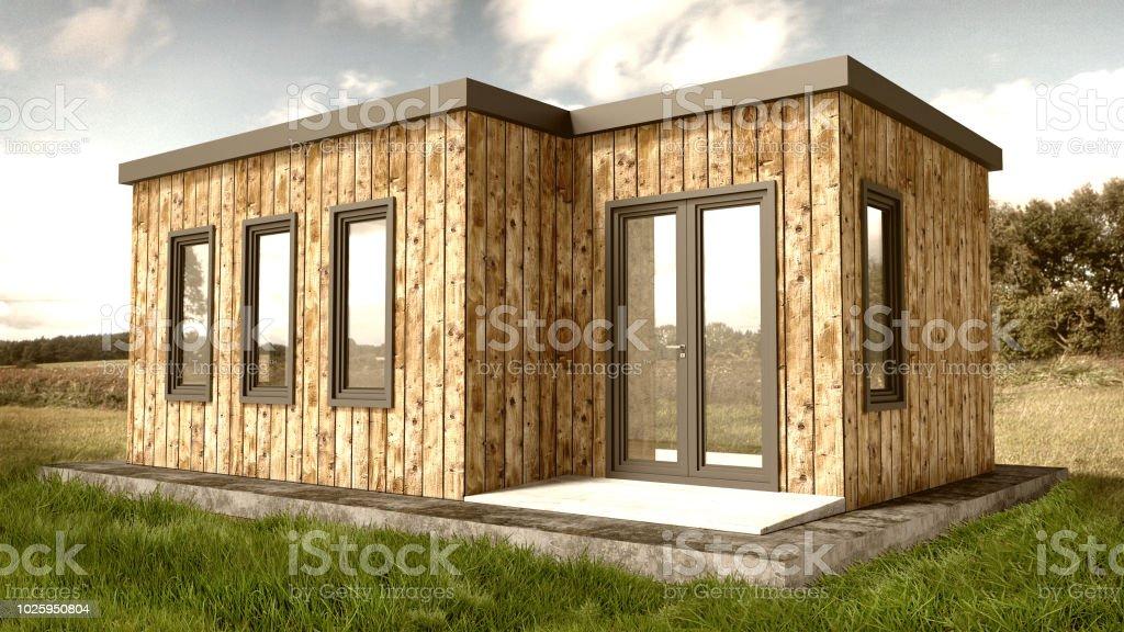 Petite Maison En Bois Moderne Exterieur Photos Et Plus D Images De