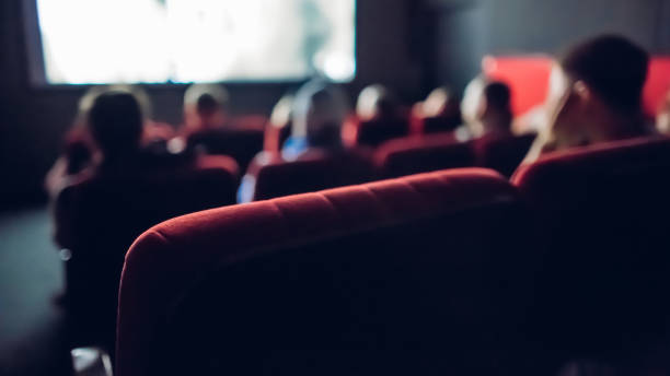 Small movie theater Small movie theater film and television screening stock pictures, royalty-free photos & images