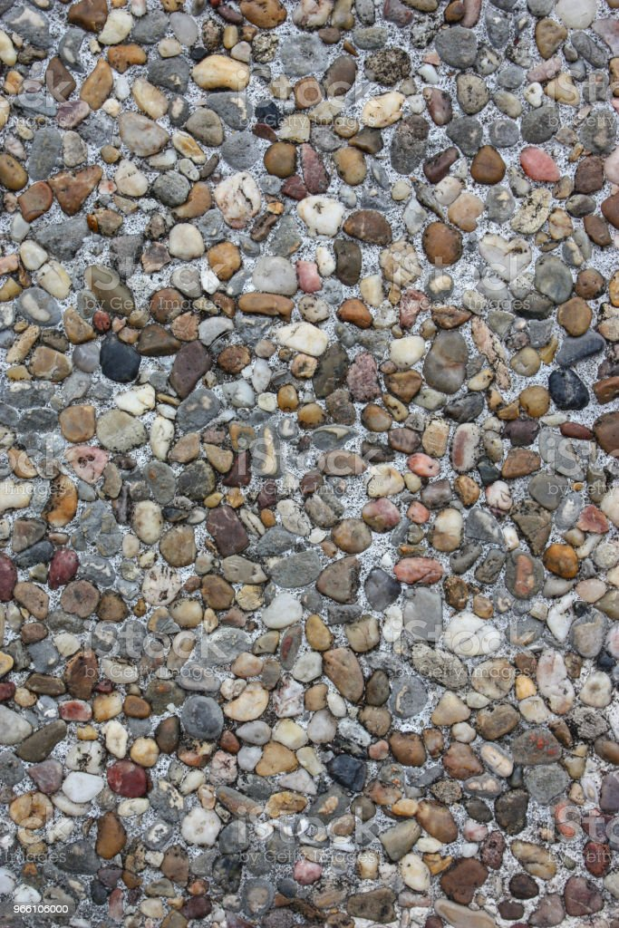Small multi-colored stones - Royalty-free Flat Stock Photo