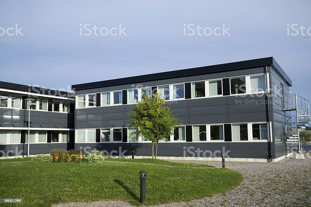 Small Office Building Stock Photo