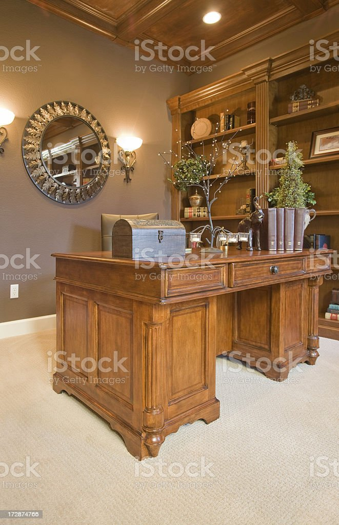 Small Office Study Room Stock Photo Download Image Now Istock