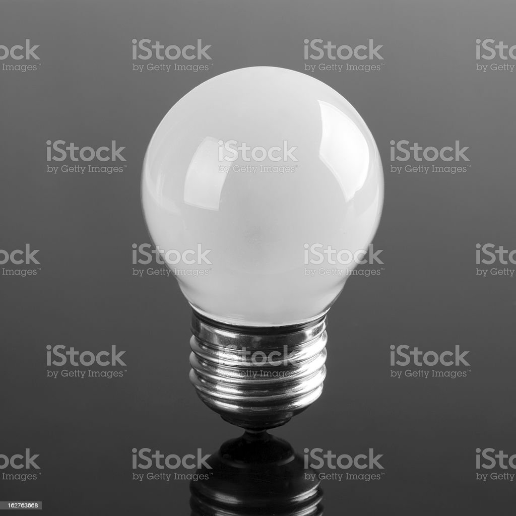 Small opaque bulb royalty-free stock photo