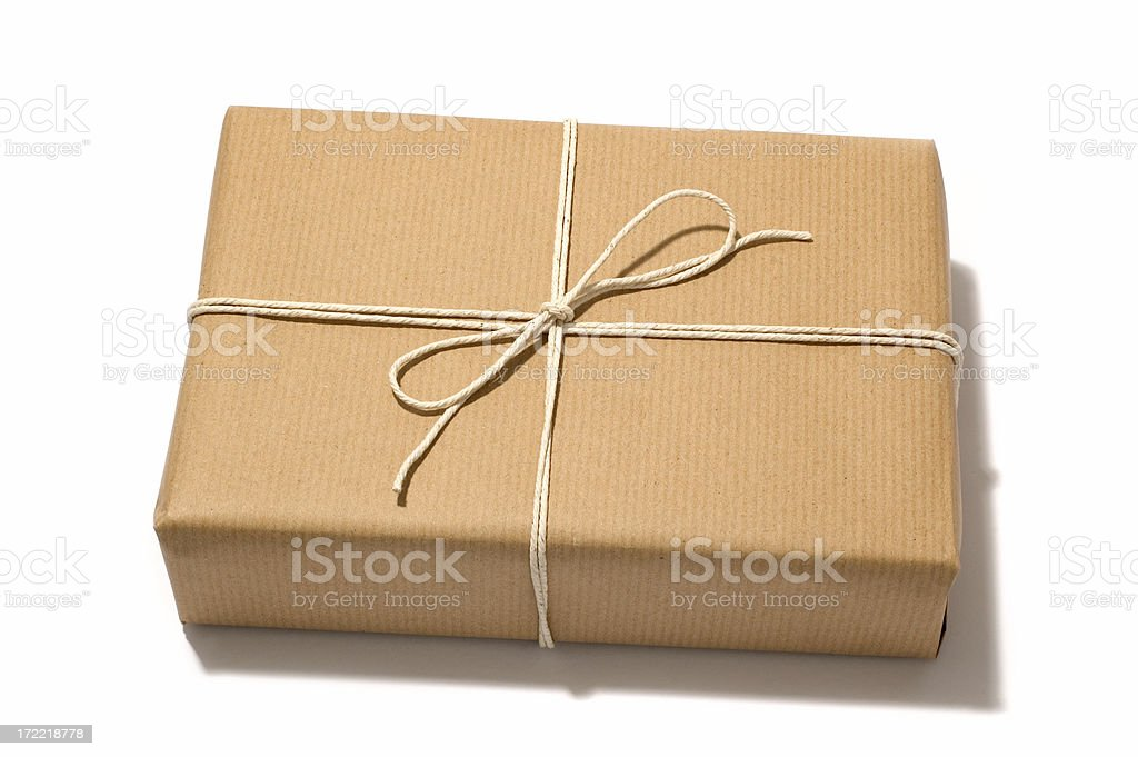 small packet. royalty-free stock photo