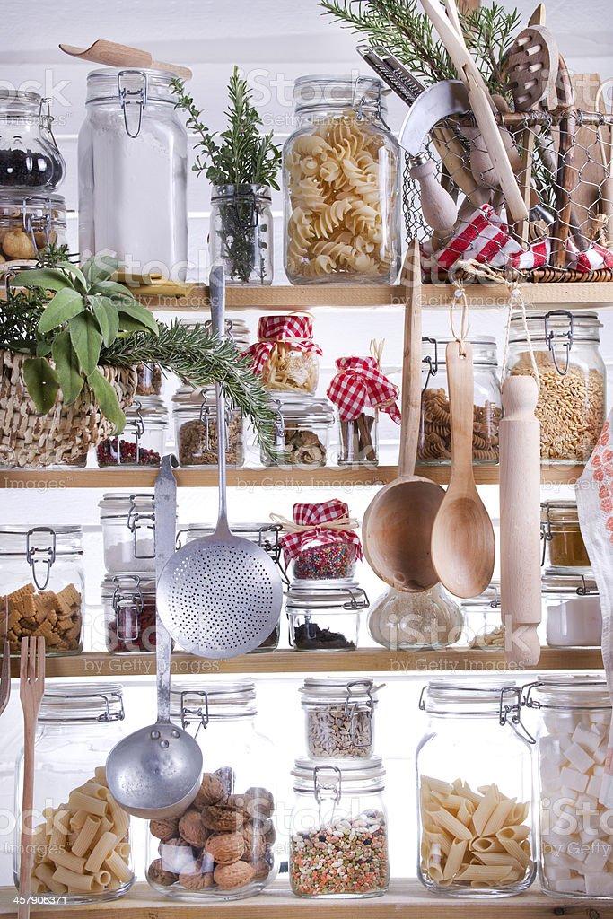 Small Pantry stock photo