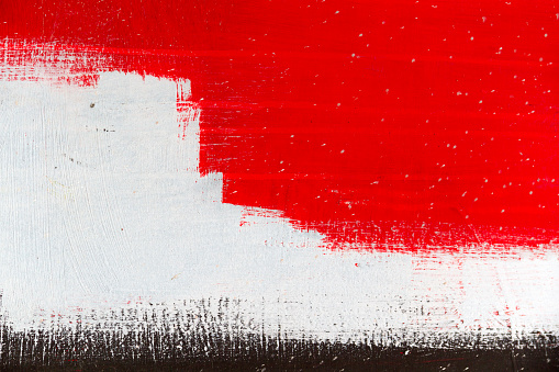 Abstract background in grey,black,white and red - part of a big colourful street graffiti