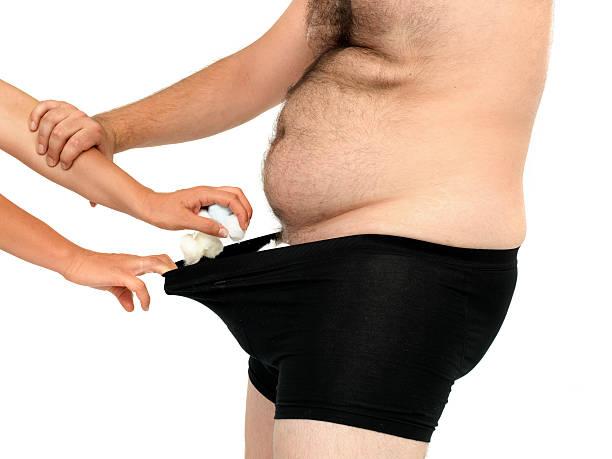small penis stock photo