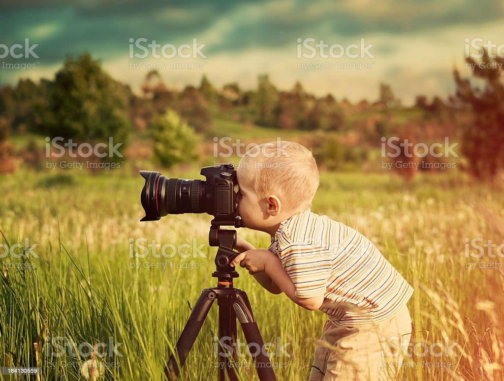 Kleine Fotografen – Foto