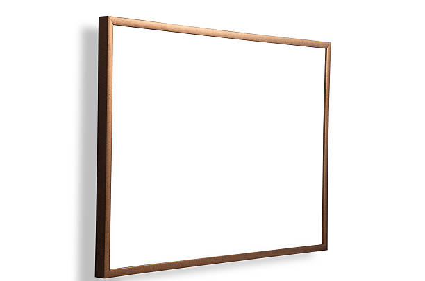 small picture frame stock photo