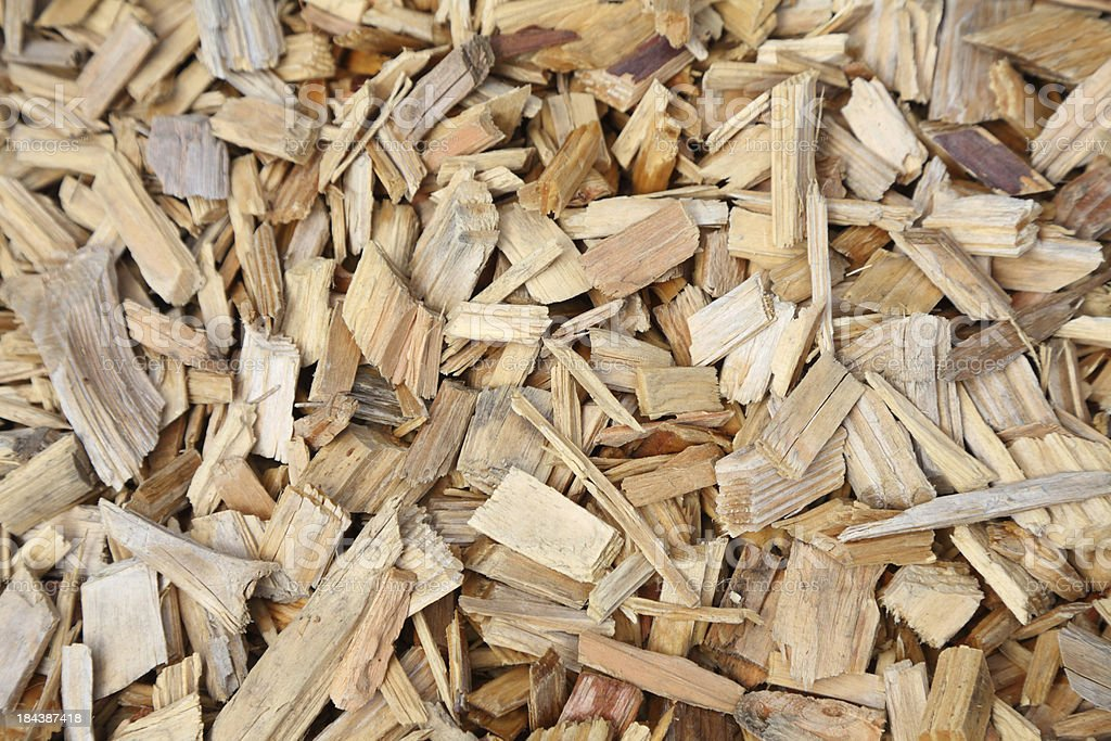 small pieces of wood royalty-free stock photo