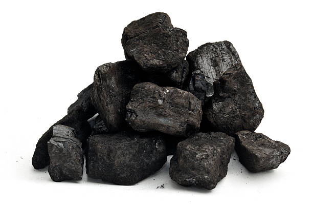 small pile of coal - coal stock pictures, royalty-free photos & images