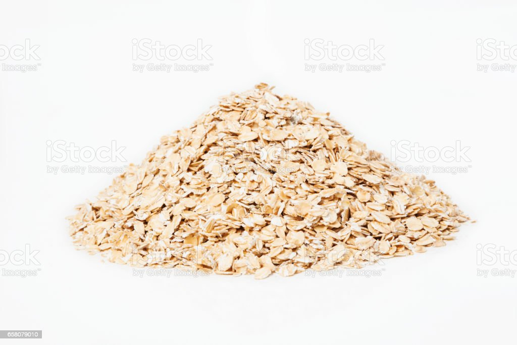 Small pile of oat royalty-free stock photo