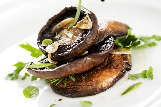 Zubereitete-Pilzen – Foto