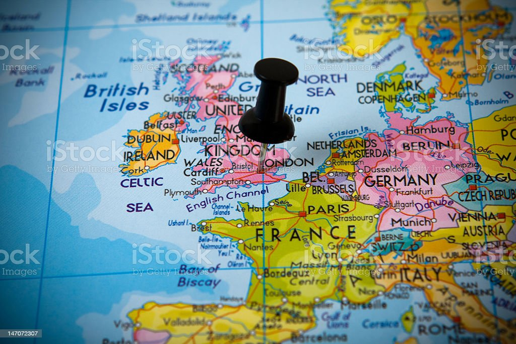 Infos sur : londres carte europe   Arts et Voyages