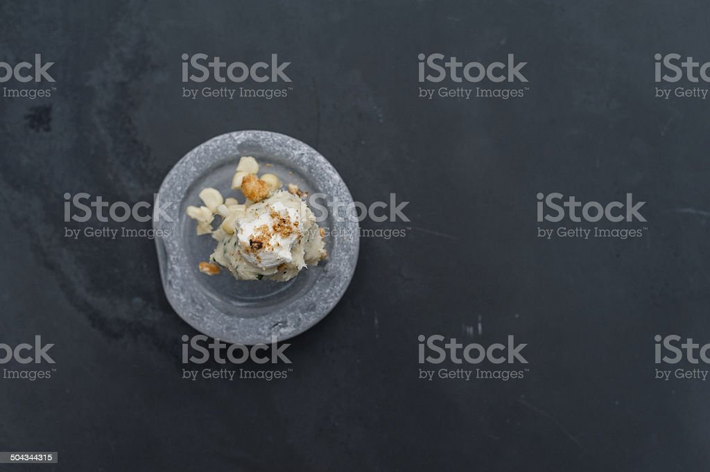 Small Plate stock photo