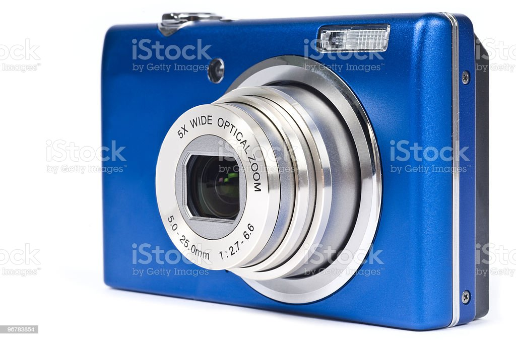 Small Point and Shoot Digital Camera stock photo