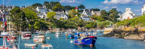 Petit port de Doelan près de Clohars-Carnoet en Bretagne - Photo