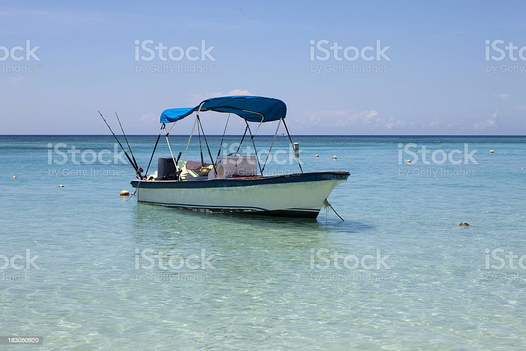 Small Private Fishing Boat royalty-free stock photo