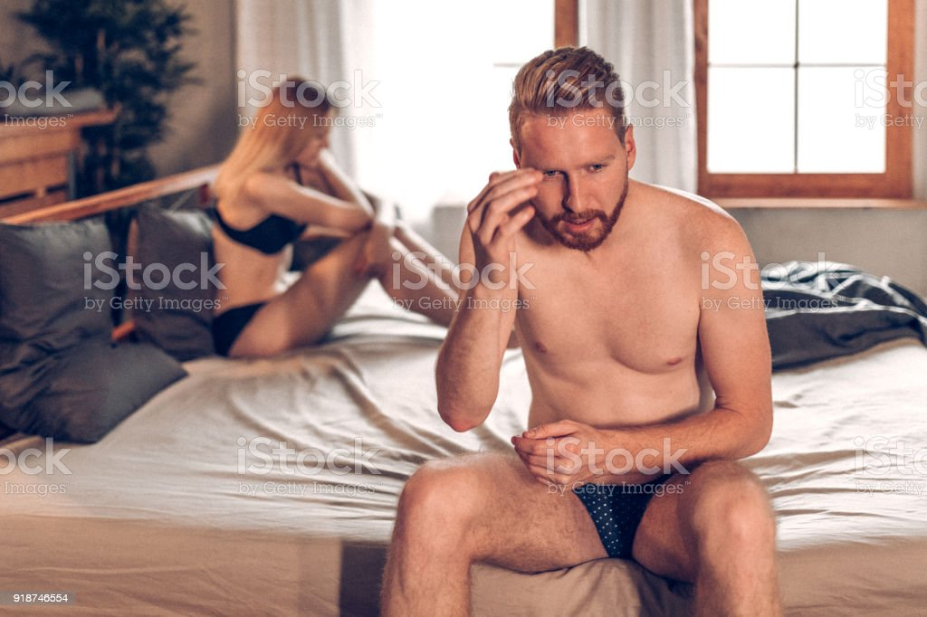 Small problems in relationship stock photo
