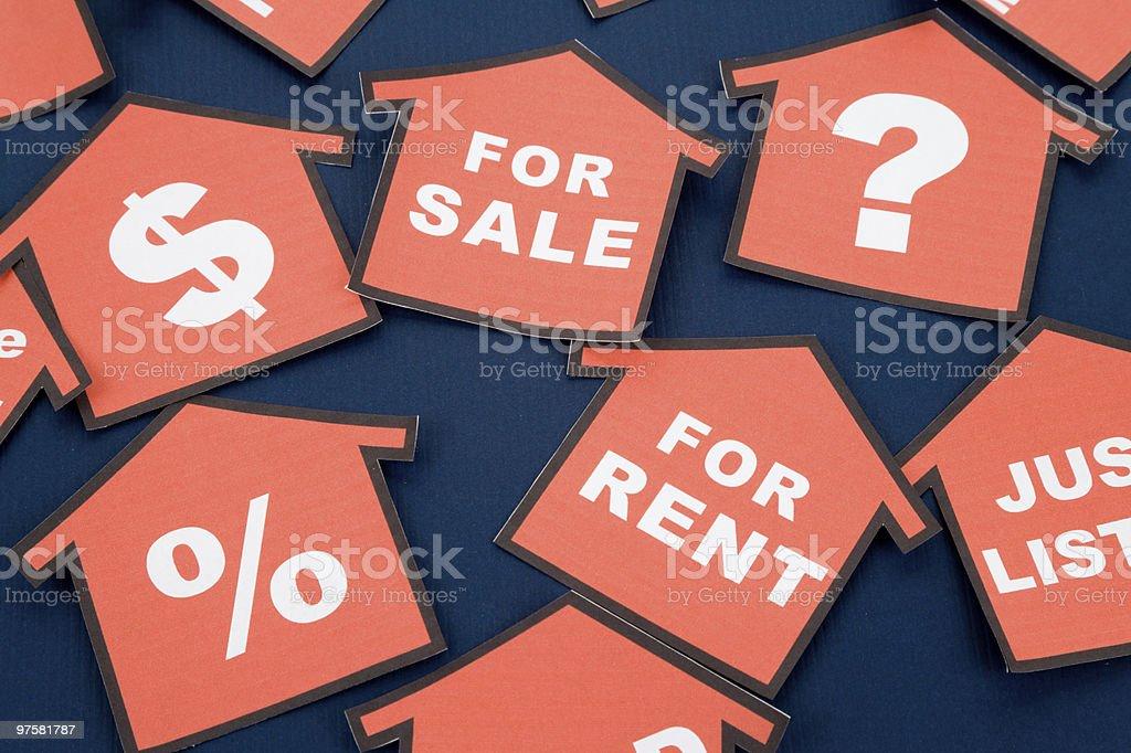 Immobilier Concept d'affaires photo libre de droits