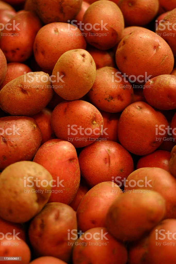 Small Red Potatoes royalty-free stock photo