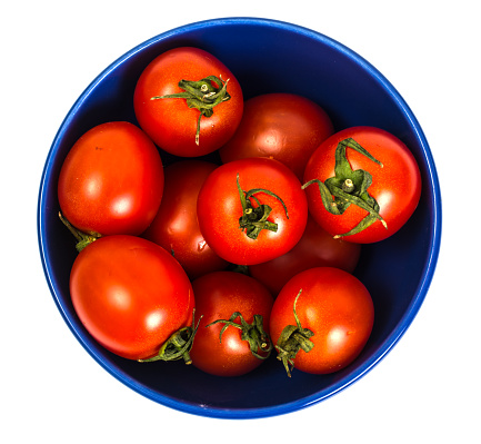 Small red tomatoes