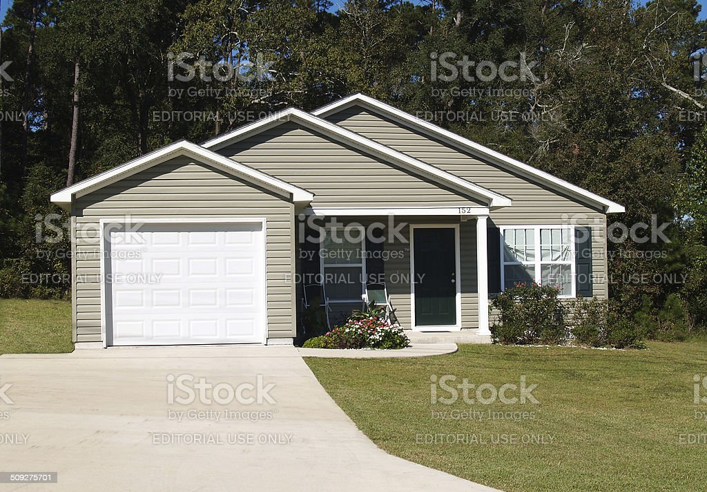 Small Residential Home stock photo