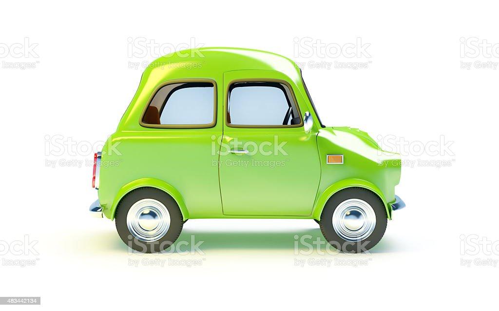 Kleine retro Auto Seite – Foto
