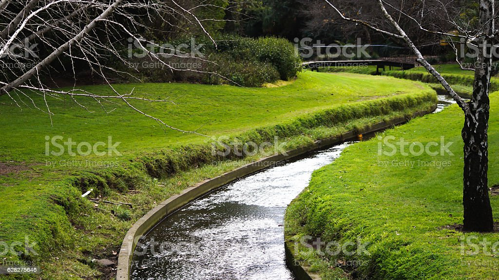 small river stock photo