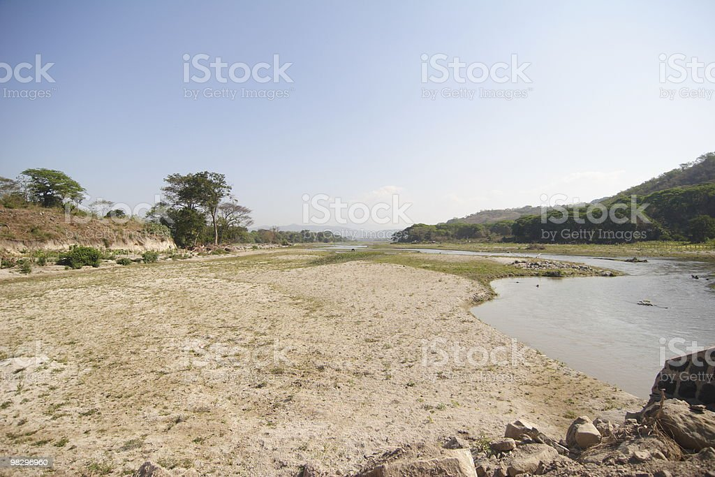 Small river royalty-free stock photo