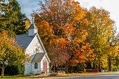 istock Small Rural Church 1217576604