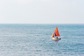 small sailboat on the water