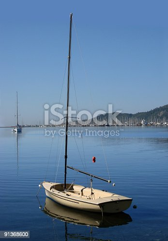 Small Sailboat Stock Photo & More Pictures of Aquatic Sport