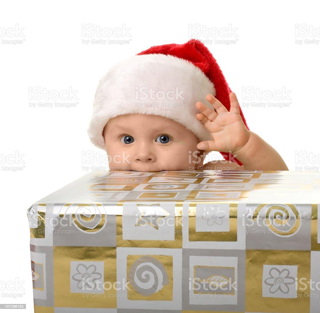 small Santa Claus #7 royalty-free stock photo