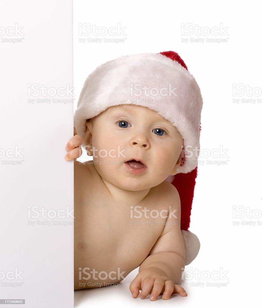 Pequeña Santa Claus foto de stock libre de derechos