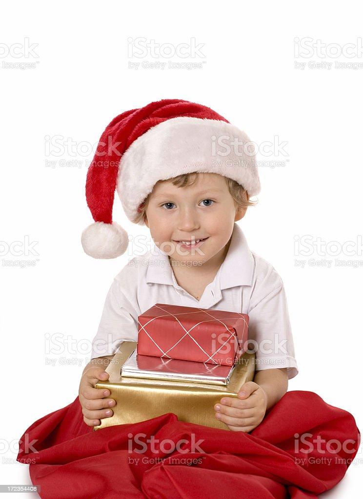 small Santa Claus royalty-free stock photo