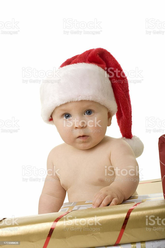 Pequeña Santa Claus#6 foto de stock libre de derechos