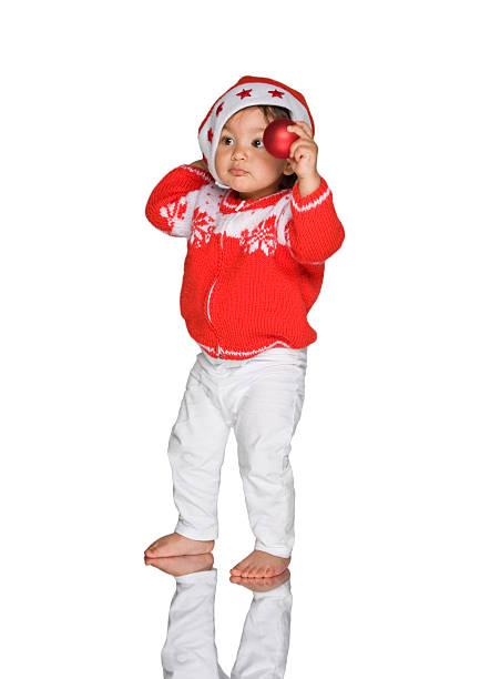 d03c658b670 Top 60 Cute Christmas Santa Girl In Red Dress Stock Photos