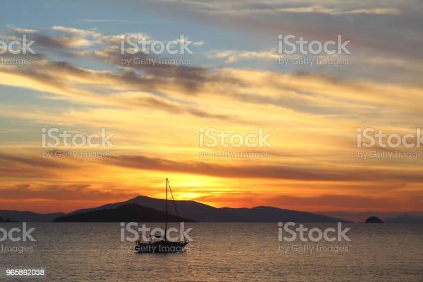 A Small Seaside Town Turgutreis Stock Photo - Download Image Now