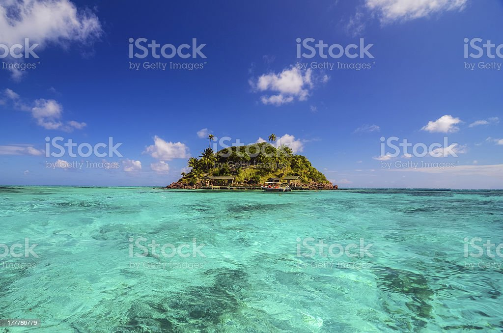 Small Secluded Island stock photo