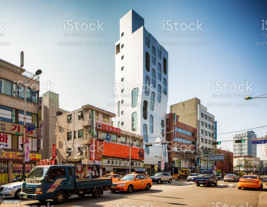 Small Seoul South Korea Street With Modern Apartment Building And Traffic  Stock Photo U0026 More Pictures Of Apartment | IStock