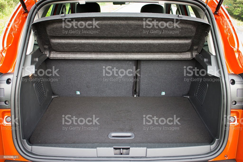Small Size SUV Car Trunk stock photo