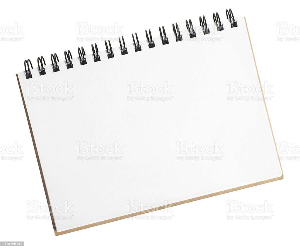 Small Sketch Pad stock photo