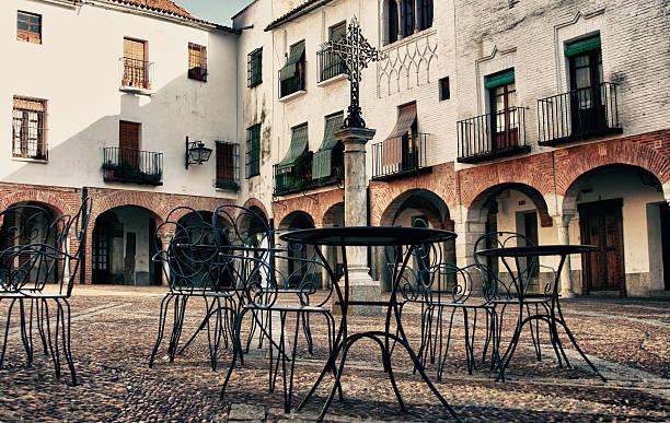 Cuadrada pequeña de Zafra, Badajoz, España - foto de stock
