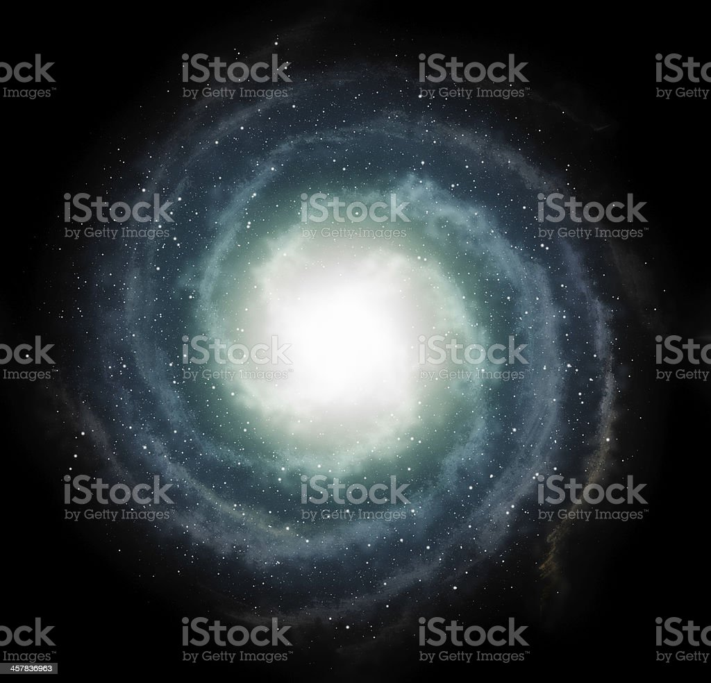 small stars on galaxy space backgrounds stock photo