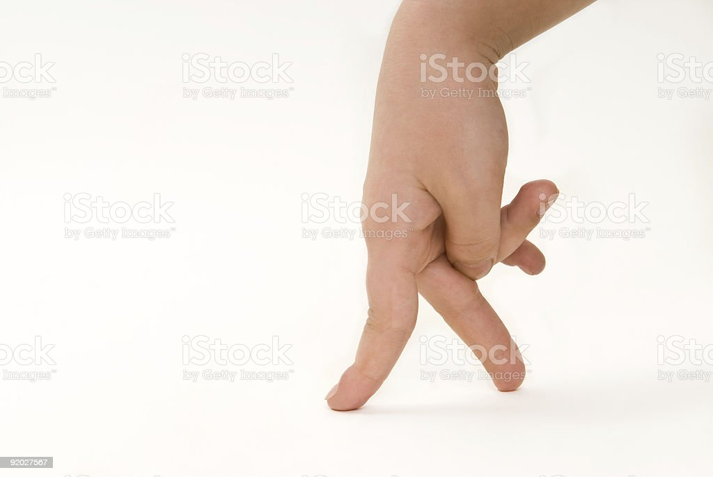 small step royalty-free stock photo