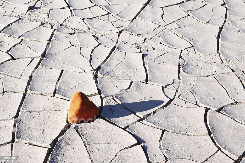작은 돌 사암 in 데스밸리 royalty-free 스톡 사진