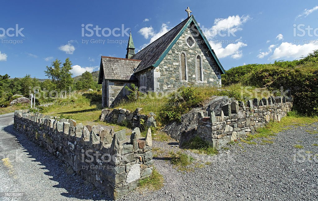 small stone temple in the forest royalty-free stock photo