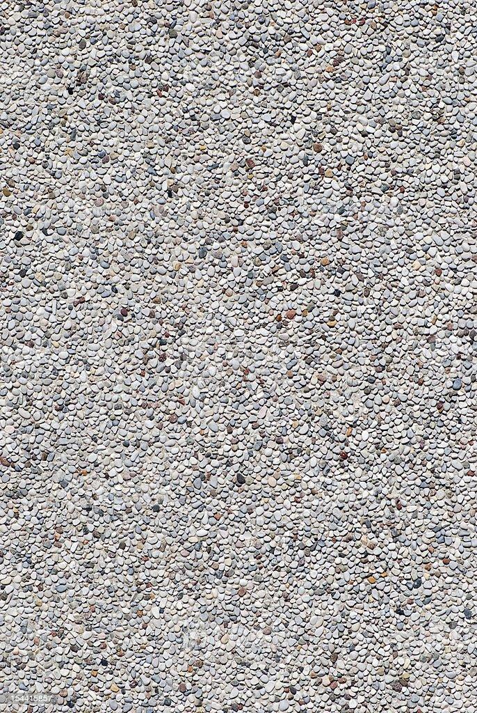 Small stones gravel wall texture royalty-free stock photo
