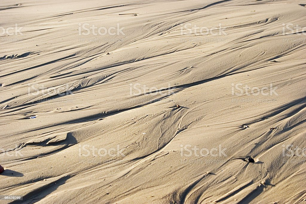 Small stones on sand royalty-free stock photo